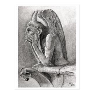 Gargoyle 3 tarjetas postales