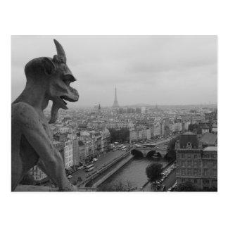 Gargoyle de Notre Dame Tarjetas Postales