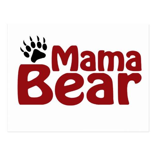 Garra de la mamá oso postales