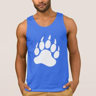 Garra de oso del orgullo del oso blanco (r) camiseta de tirantes