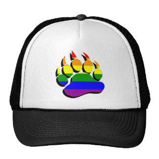 Garra de oso gay magnífica en EFECTO del AUMENTO d Gorras De Camionero
