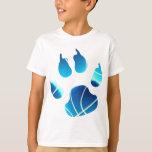 Garra del baloncesto camiseta