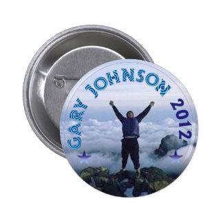 Gary Johnson 2012 Chapa Redonda De 5 Cm
