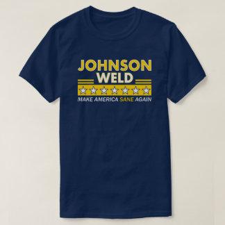 Gary Johnson/camiseta libertaria de la oscuridad Camiseta