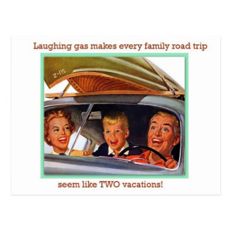 Gas hilarante postal
