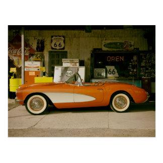 Gasolinera clásica del RT 66 Postal
