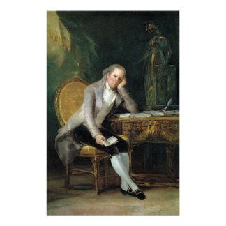 Gaspar Melchor de Jovellanos de Francisco Goya Papeleria