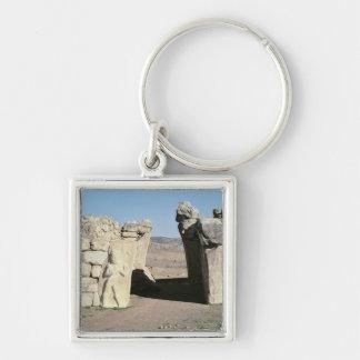 Gate del rey de las paredes de Hattusas Llaveros