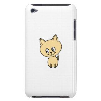 Gatito ambarino pálido lindo iPod touch Case-Mate protector