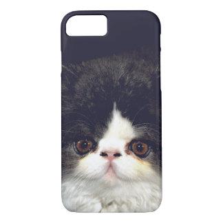 Gatito blanco y negro funda para iPhone 8/7