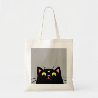 Gatito chocado bolso de tela