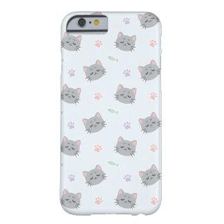 Gatito contento por Yokute Funda Barely There iPhone 6