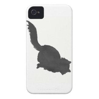 Gatito de la tinta funda para iPhone 4 de Case-Mate