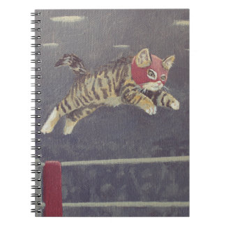 Gatito de Luchador Cuaderno