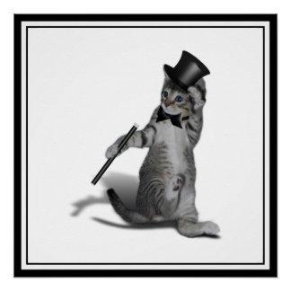 Gatito del baile de golpecito
