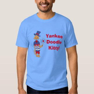 ¡Gatito del Doodle del yanqui! Camiseta
