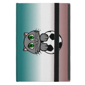 Gatito del fútbol iPad mini cobertura