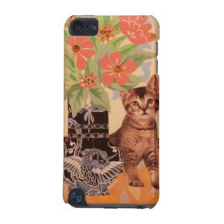 Gatito del Peekaboo: Caja linda del teléfono Funda Para iPod Touch 5G