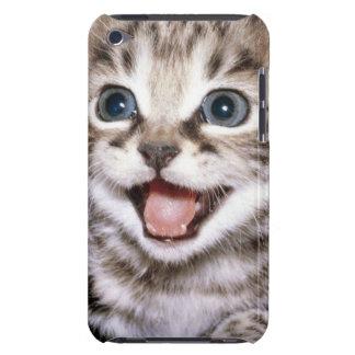 Gatito emocionado lindo del Tabby Funda iPod