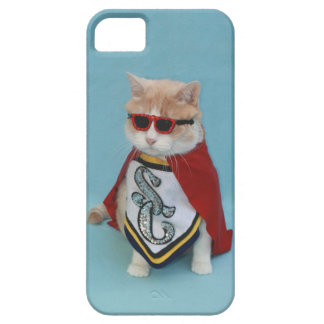 Gatito estupendo de Bubba iPhone 5 Cárcasas