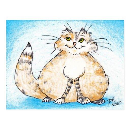 ¿Gatito gordo del gatito gordo, dónde usted ha sid Tarjetas Postales