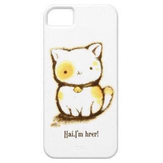 Gatito lindo iPhone 5 cárcasa
