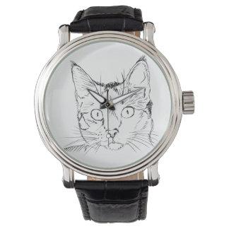 Gatito Reloj