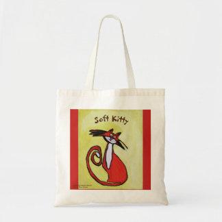 Gatito suave - la bolsa de asas