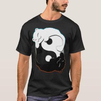 Gatito Yin Yang Camiseta
