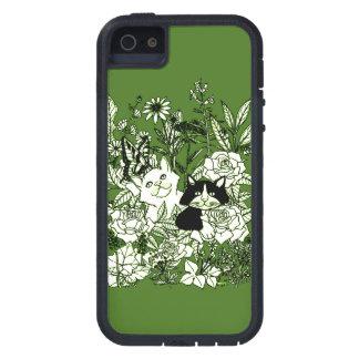 Gatitos en los Wildflowers Funda iPhone SE/5/5s