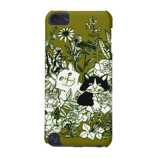 Gatitos en los Wildflowers Funda Para iPod Touch 5