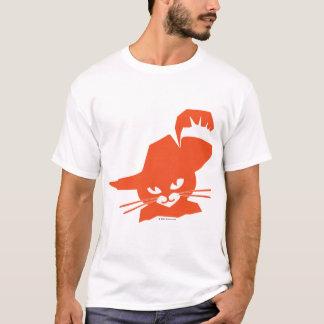 Gato anaranjado camiseta