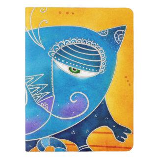 Gato azul cuaderno extra grande moleskine