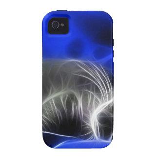 gato azul Case-Mate iPhone 4 carcasa