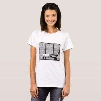 Gato de agosto camiseta