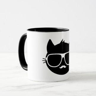 Gato de Anthro - taza (combinado, coloreado)