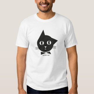 Gato de Astro Camisetas