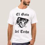 Gato de El Gato Del Techo Ceiling Camiseta
