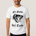 Gato de El Gato Del Techo Ceiling Camisetas