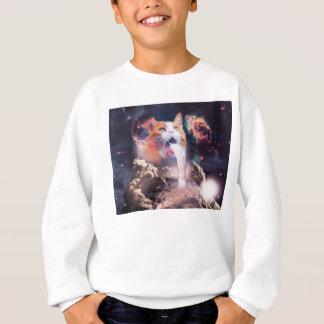 gato de la cascada - fuente del gato - espacie el sudadera