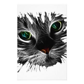Gato de la sombra papelería de diseño