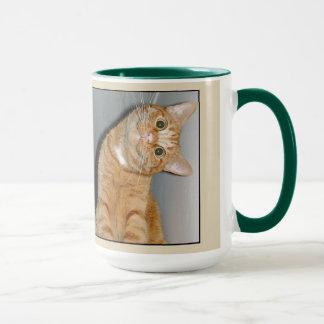 gato de la taza