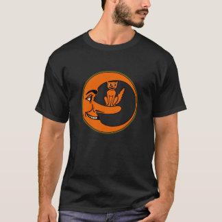 gato de los años 30 en la camiseta de la luna