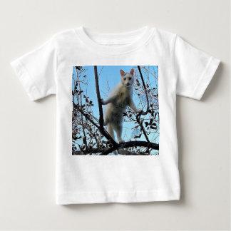 Gato de Ninja Camiseta De Bebé