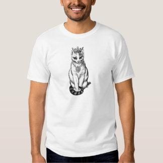 Gato de Purrfect con las joyas de la corona N Camisas