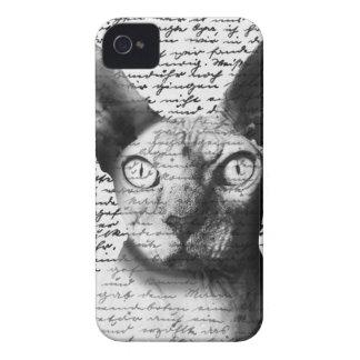 Gato de Sphynx Carcasa Para iPhone 4 De Case-Mate