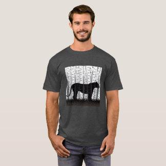Gato del abedul camiseta