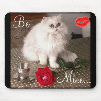 Gato del amor II Mousepad - personalizable