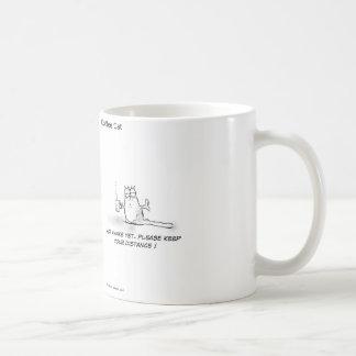 Gato del café   - taza de café