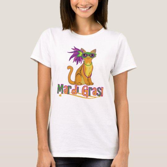 Gato del carnaval camiseta